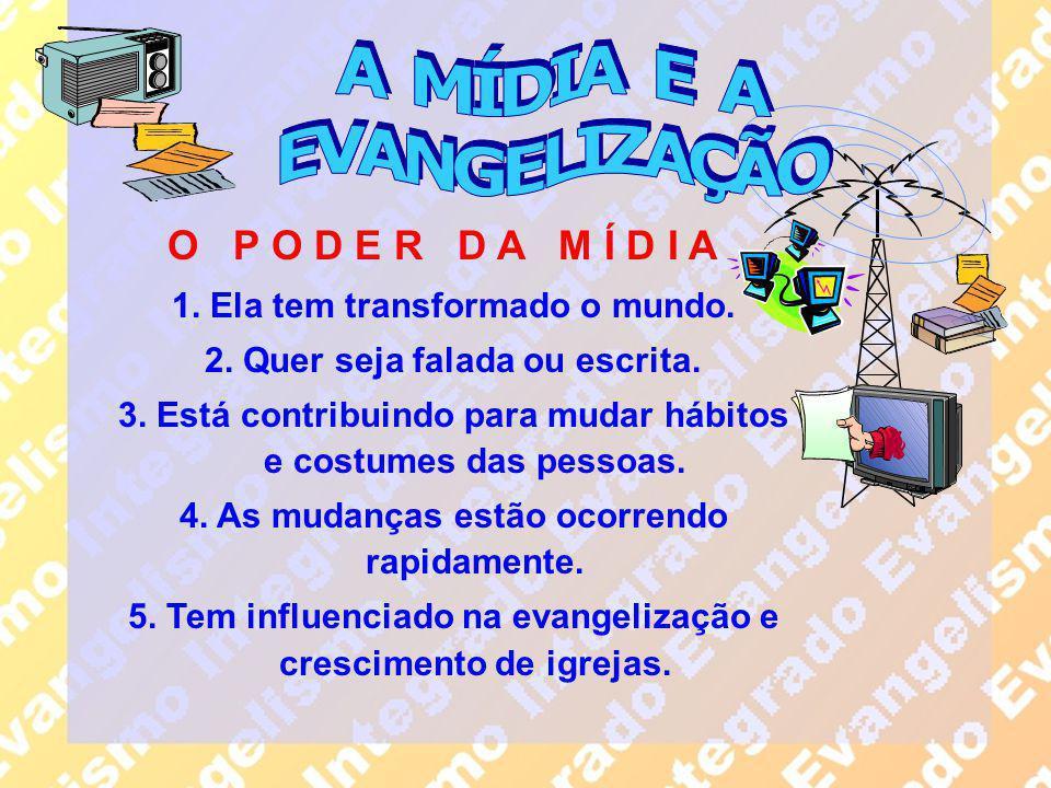 A MÍDIA E A EVANGELIZAÇÃO