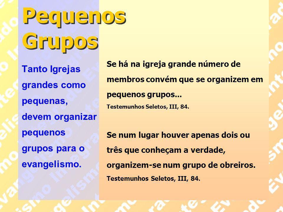 Pequenos Grupos