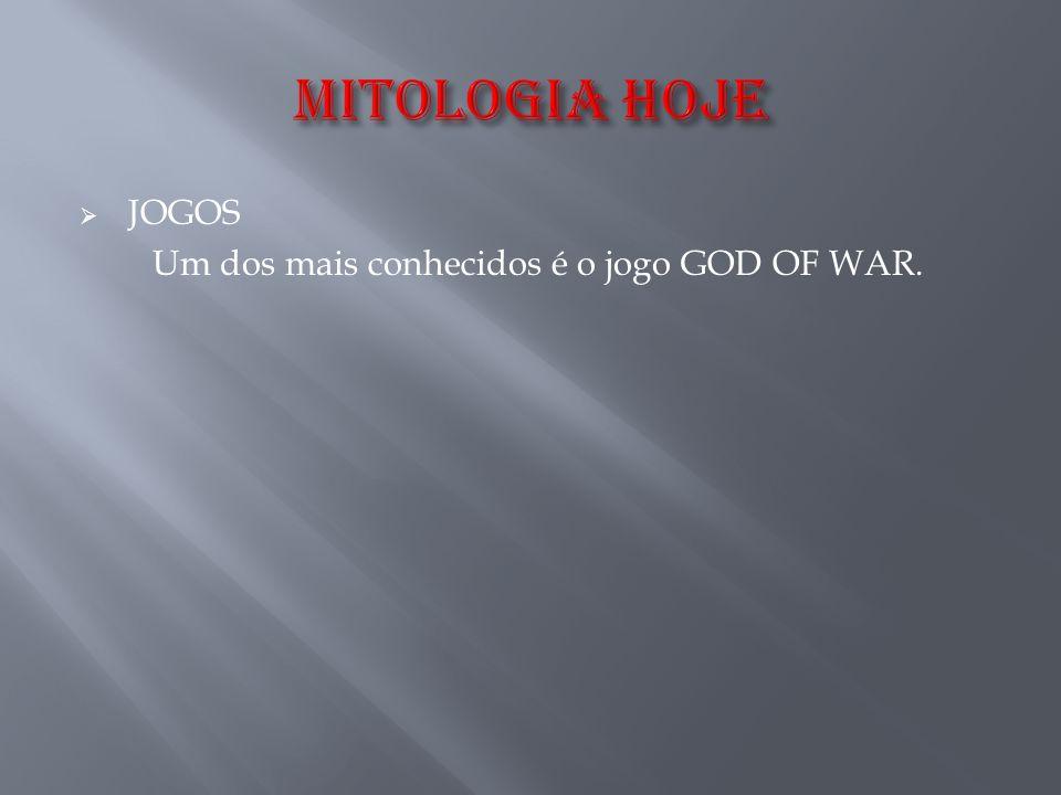 Um dos mais conhecidos é o jogo GOD OF WAR.