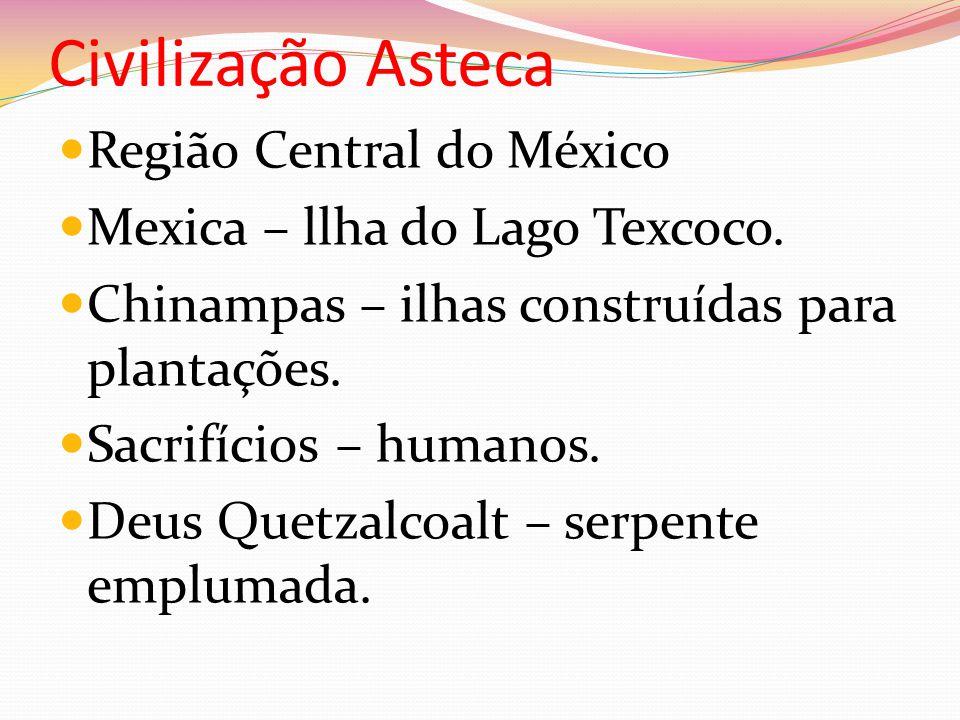 Civilização Asteca Região Central do México