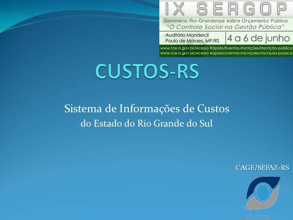 Sistema de Informações de Custos do Estado do Rio Grande do Sul