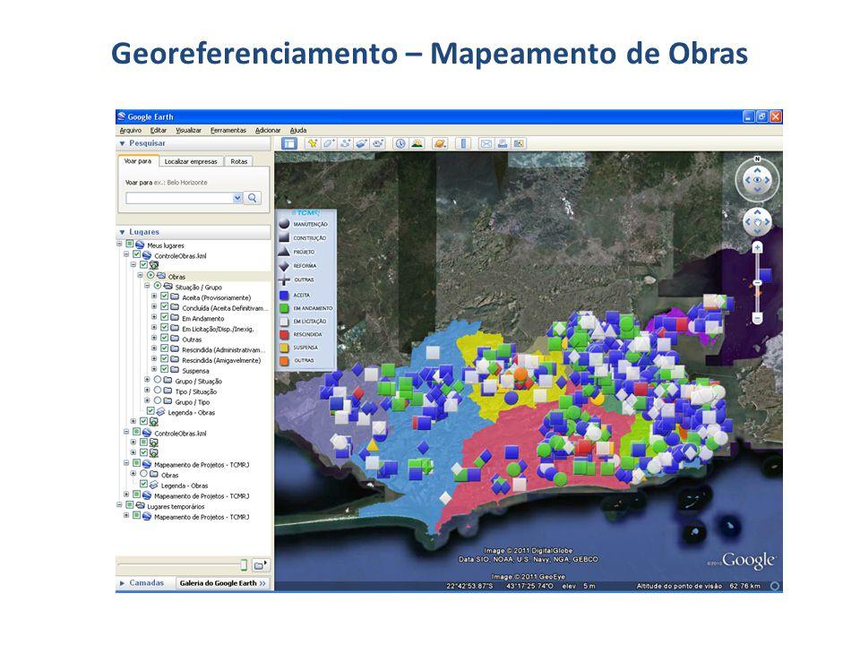 Georeferenciamento – Mapeamento de Obras