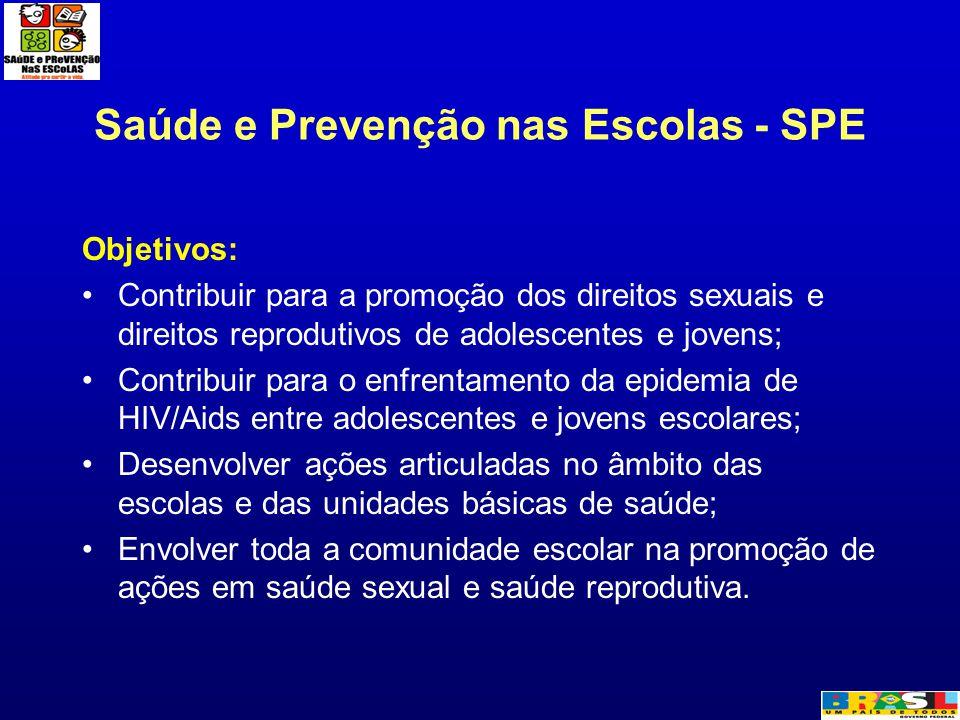 Saúde e Prevenção nas Escolas - SPE