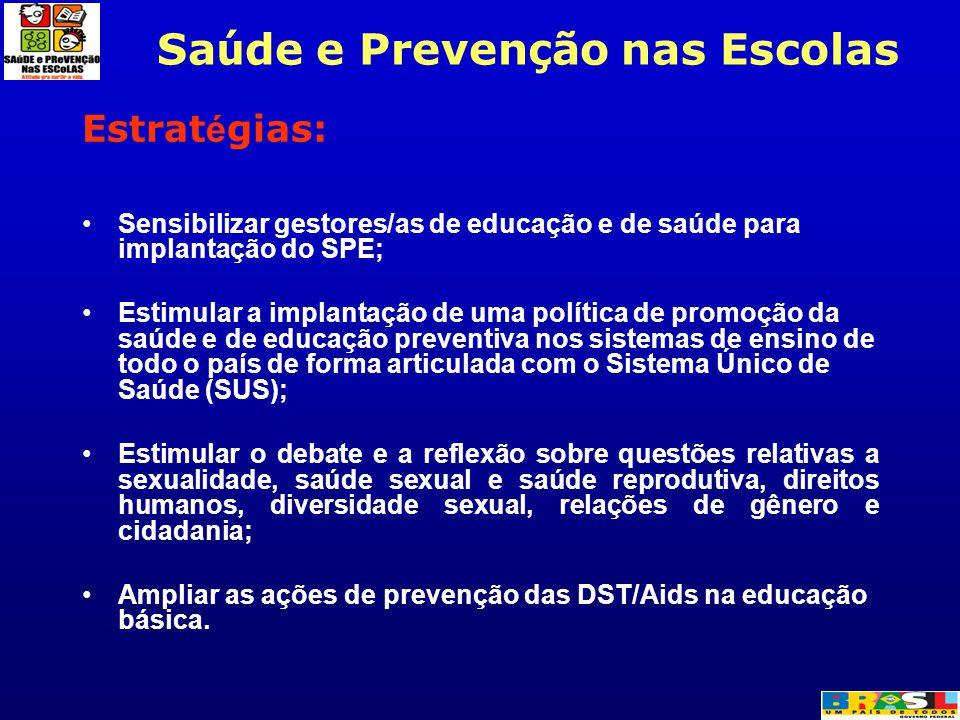 Saúde e Prevenção nas Escolas