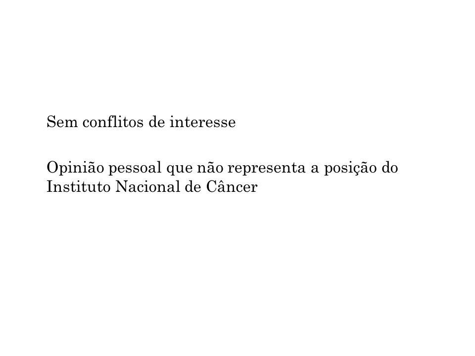 Sem conflitos de interesse