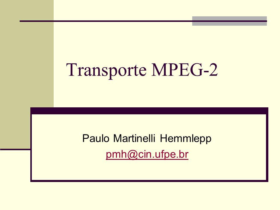 Paulo Martinelli Hemmlepp pmh@cin.ufpe.br