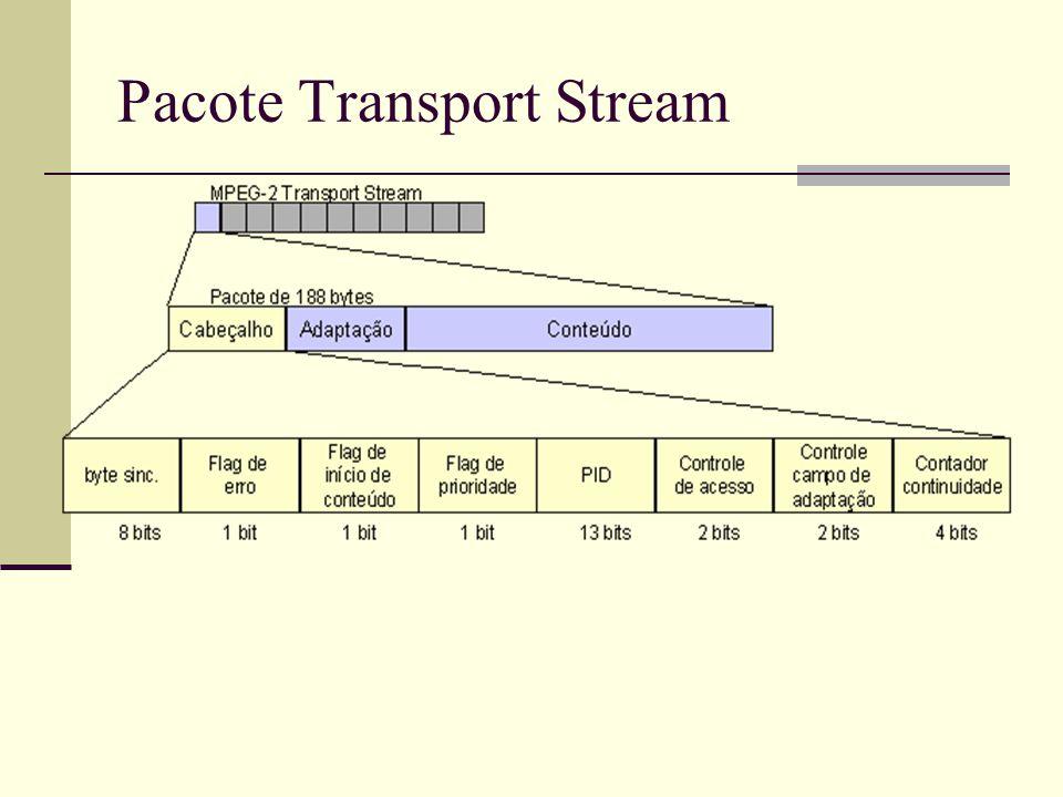 Pacote Transport Stream