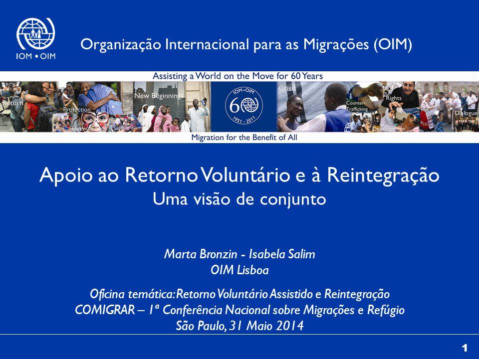 Apoio ao Retorno Voluntário e à Reintegração