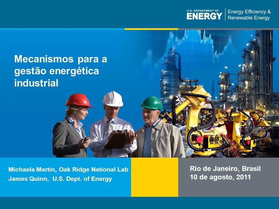 Mecanismos para a gestão energética industrial
