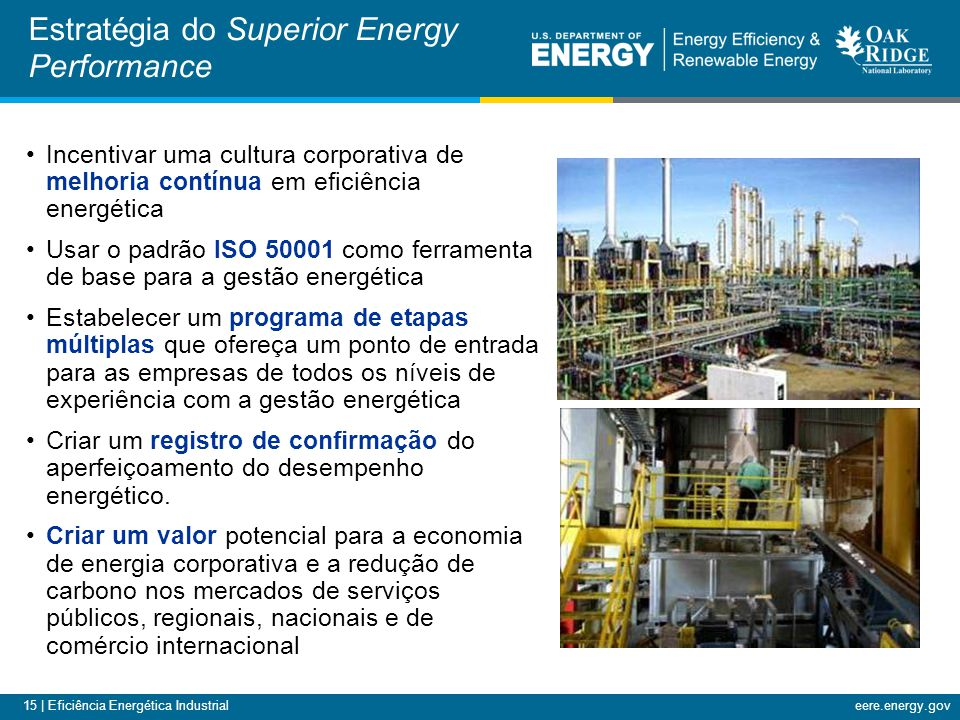 Estratégia do Superior Energy Performance