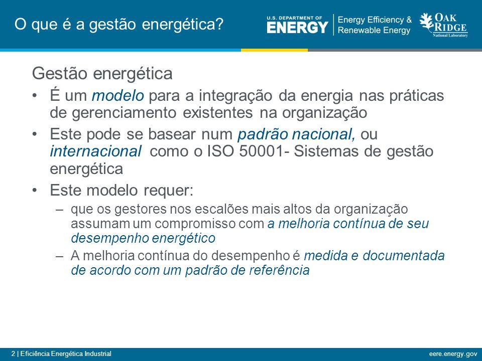 O que é a gestão energética