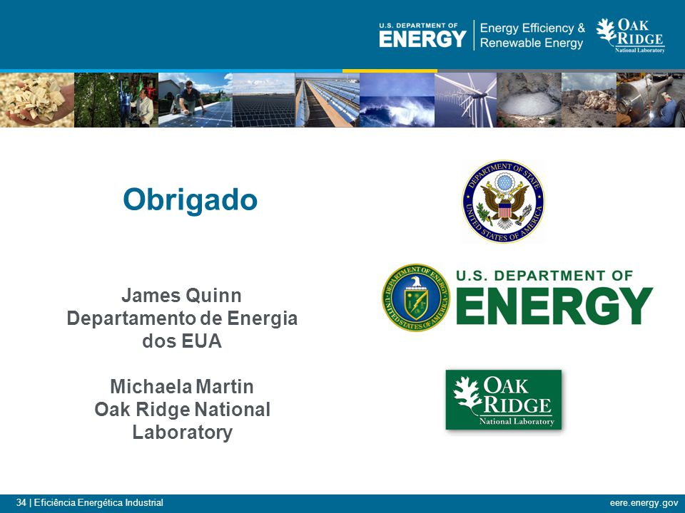 Departamento de Energia dos EUA Oak Ridge National Laboratory