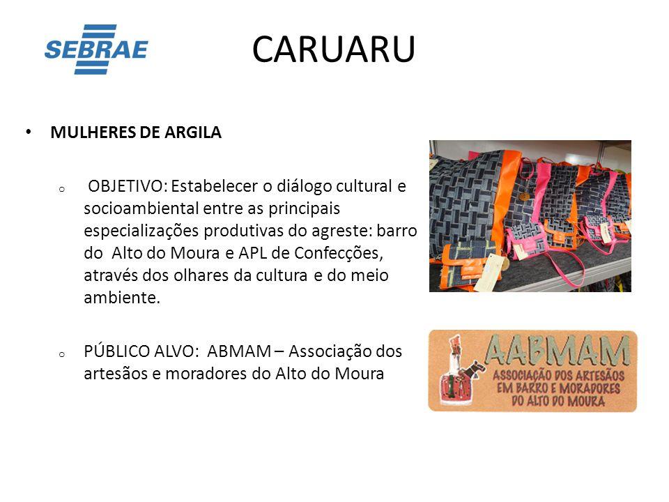 CARUARU MULHERES DE ARGILA