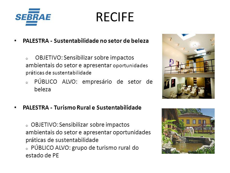 RECIFE PALESTRA - Sustentabilidade no setor de beleza