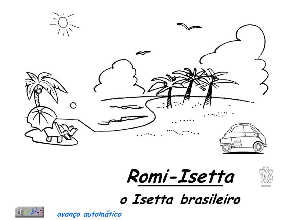 Romi-Isetta o Isetta brasileiro