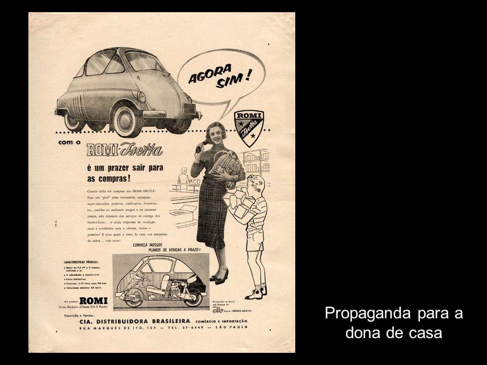 Propaganda para a dona de casa