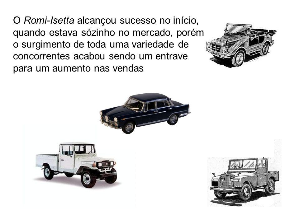 O Romi-Isetta alcançou sucesso no início, quando estava sózinho no mercado, porém o surgimento de toda uma variedade de concorrentes acabou sendo um entrave para um aumento nas vendas