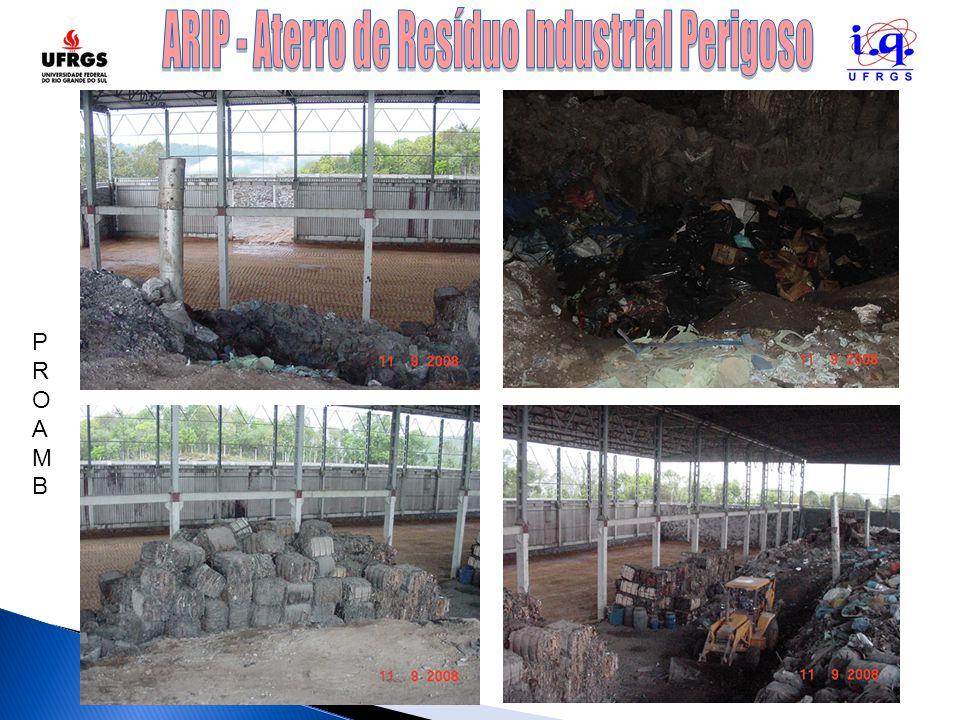 ARIP - Aterro de Resíduo Industrial Perigoso