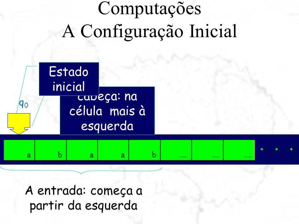 Computações A Configuração Inicial