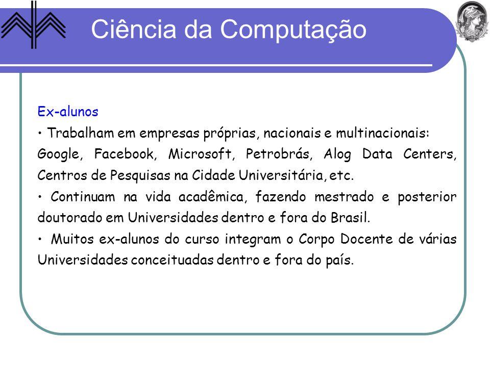 Ciência da Computação Ex-alunos