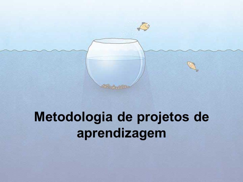 Metodologia de projetos de aprendizagem