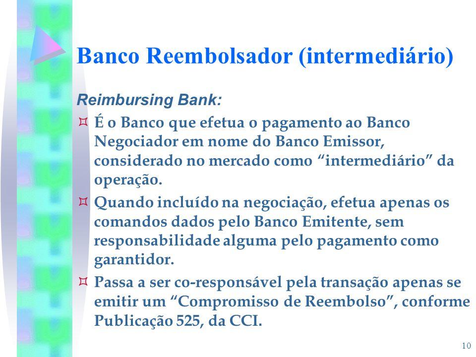 Banco Reembolsador (intermediário)