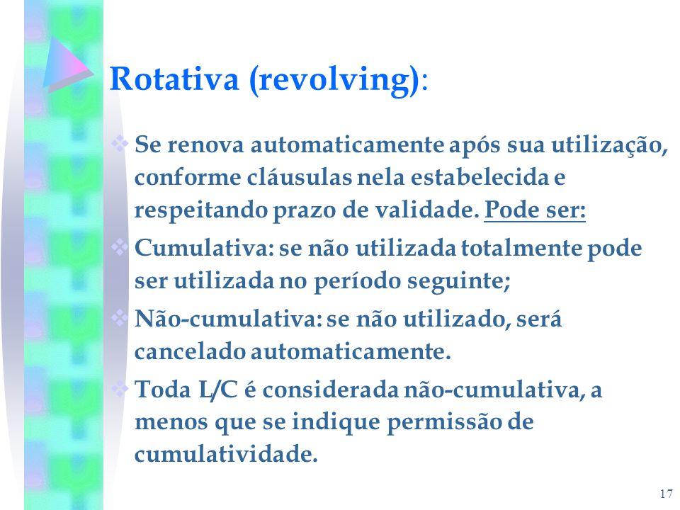 Rotativa (revolving):