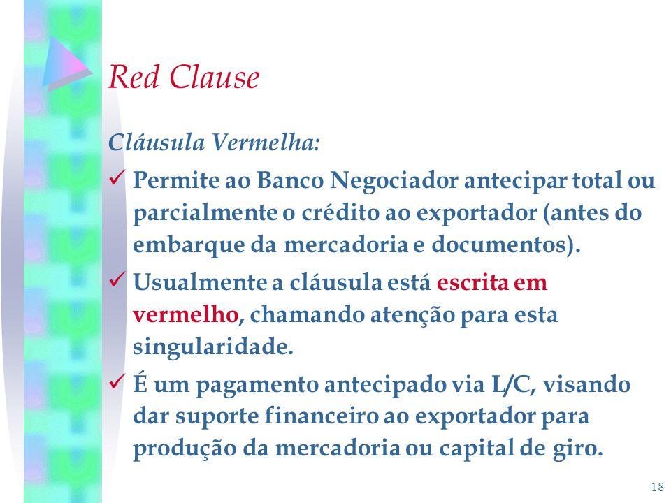 Red Clause Cláusula Vermelha: