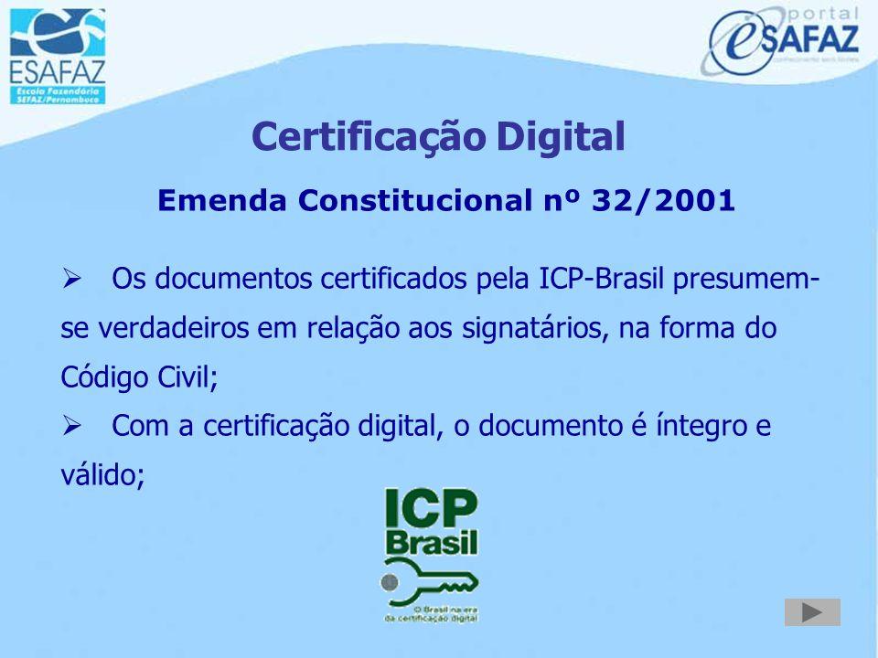 Emenda Constitucional nº 32/2001