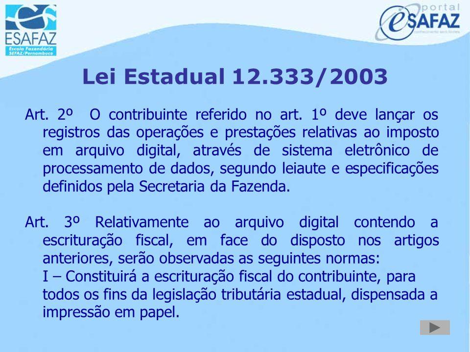 Lei Estadual 12.333/2003