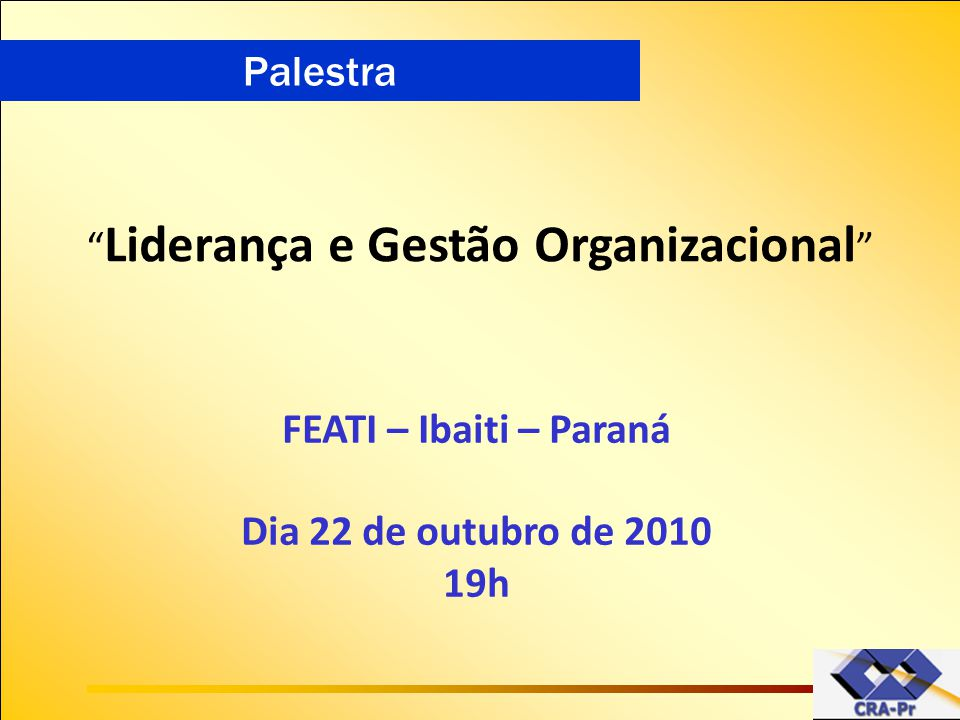 Liderança e Gestão Organizacional