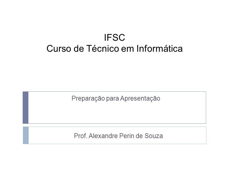 IFSC Curso de Técnico em Informática
