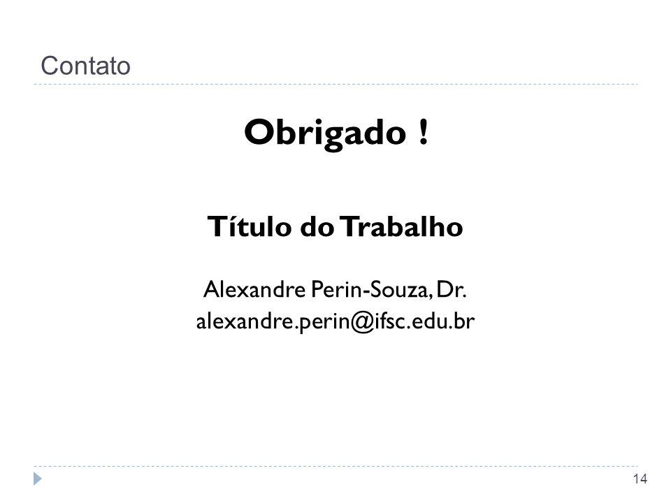 Alexandre Perin-Souza, Dr.