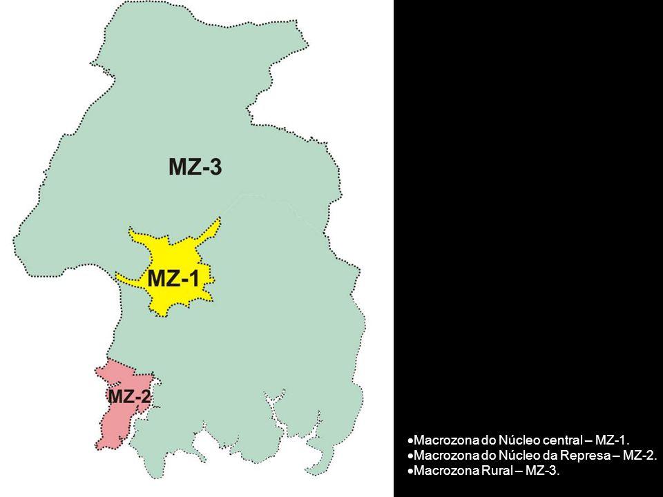 Macrozona do Núcleo central – MZ-1.