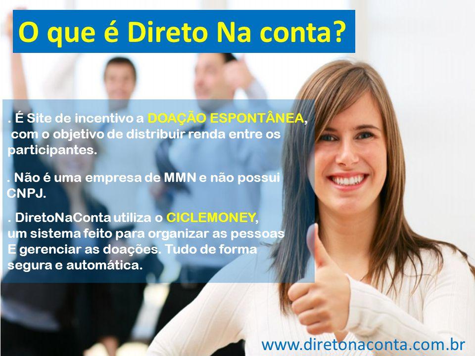 O que é Direto Na conta www.diretonaconta.com.br