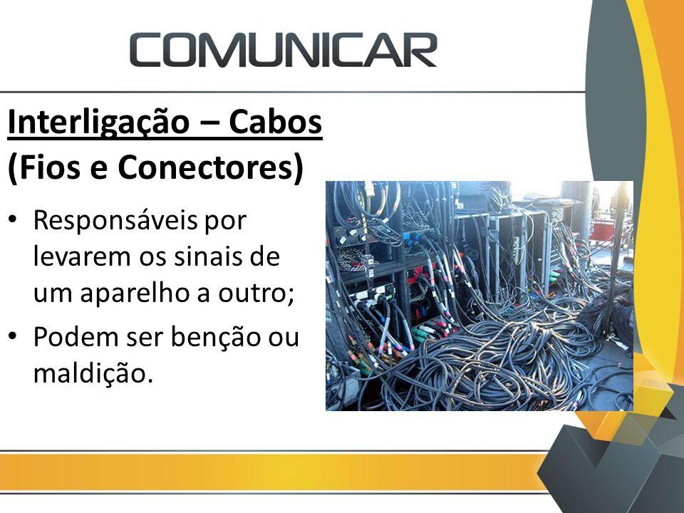Interligação – Cabos (Fios e Conectores)
