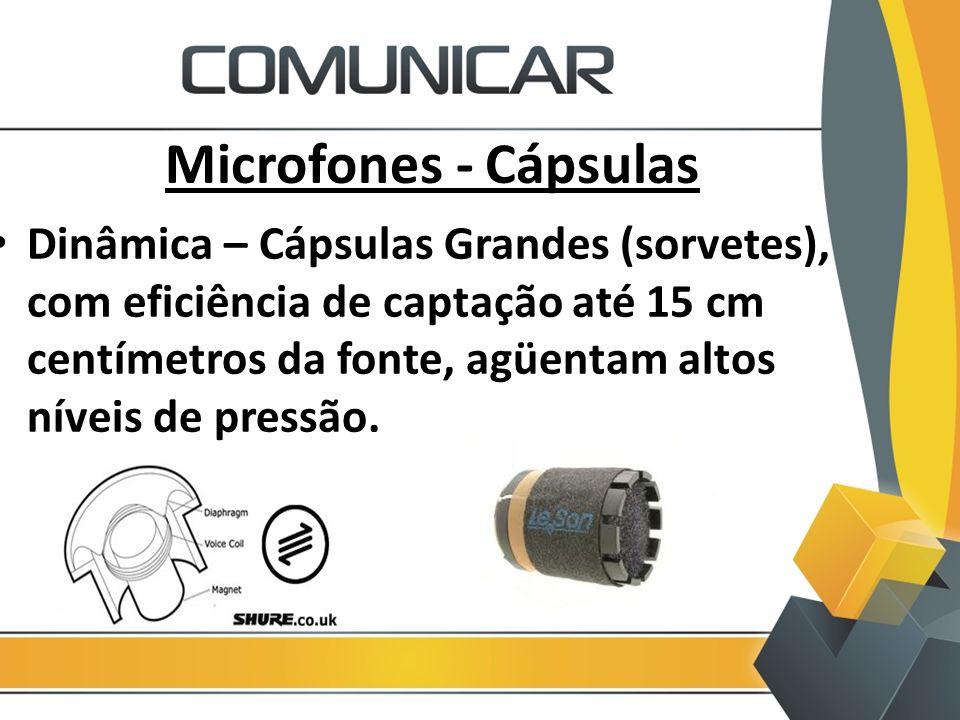 Microfones - Cápsulas