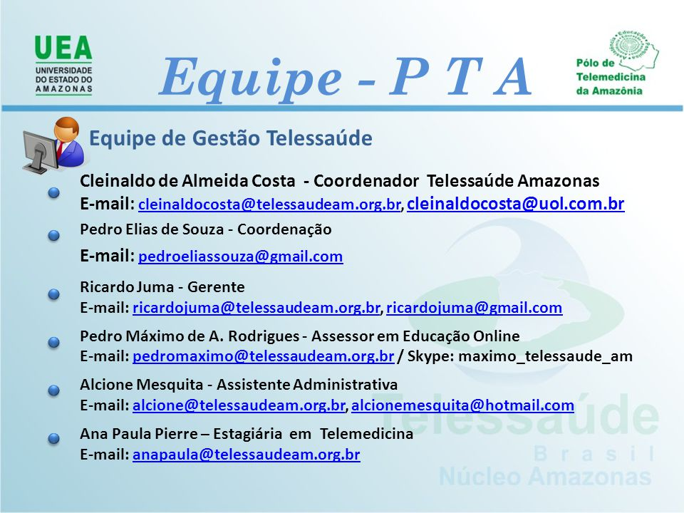 Equipe - P T A