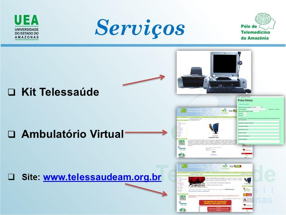 Serviços Kit Telessaúde Ambulatório Virtual
