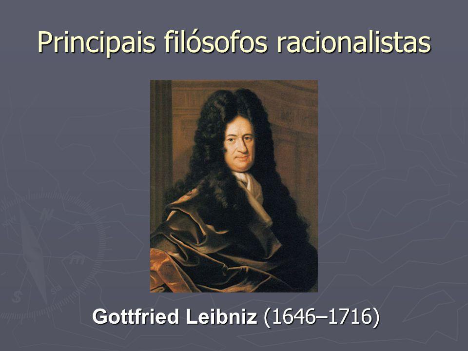 Principais filósofos racionalistas