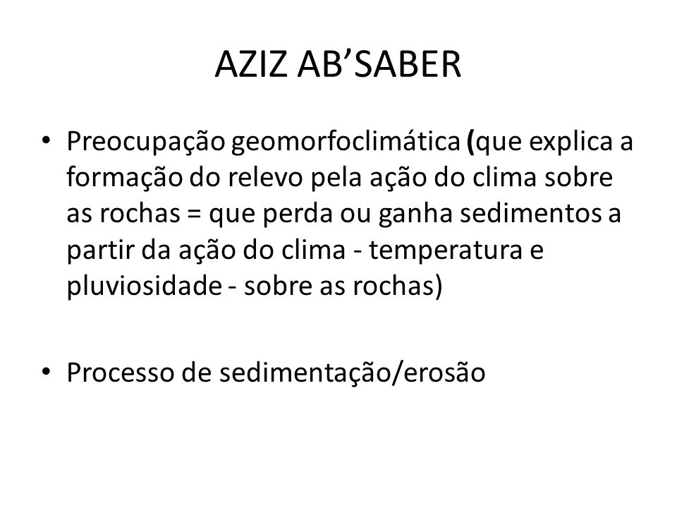 AZIZ AB'SABER