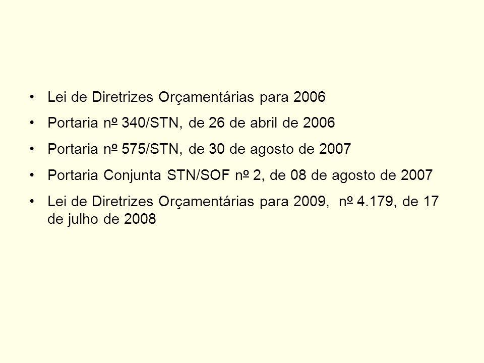 Lei de Diretrizes Orçamentárias para 2006