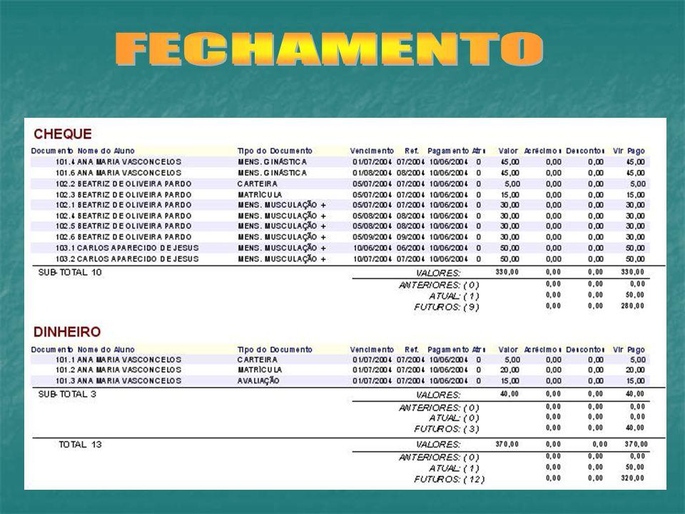 FECHAMENTO