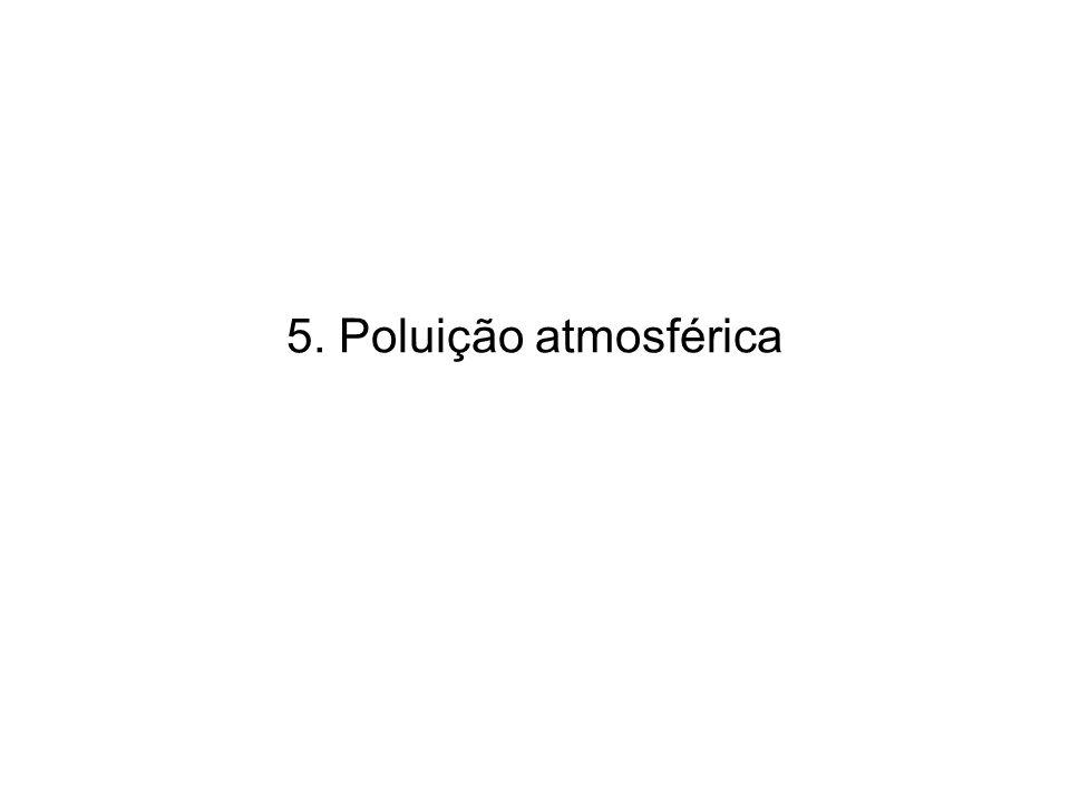 5. Poluição atmosférica