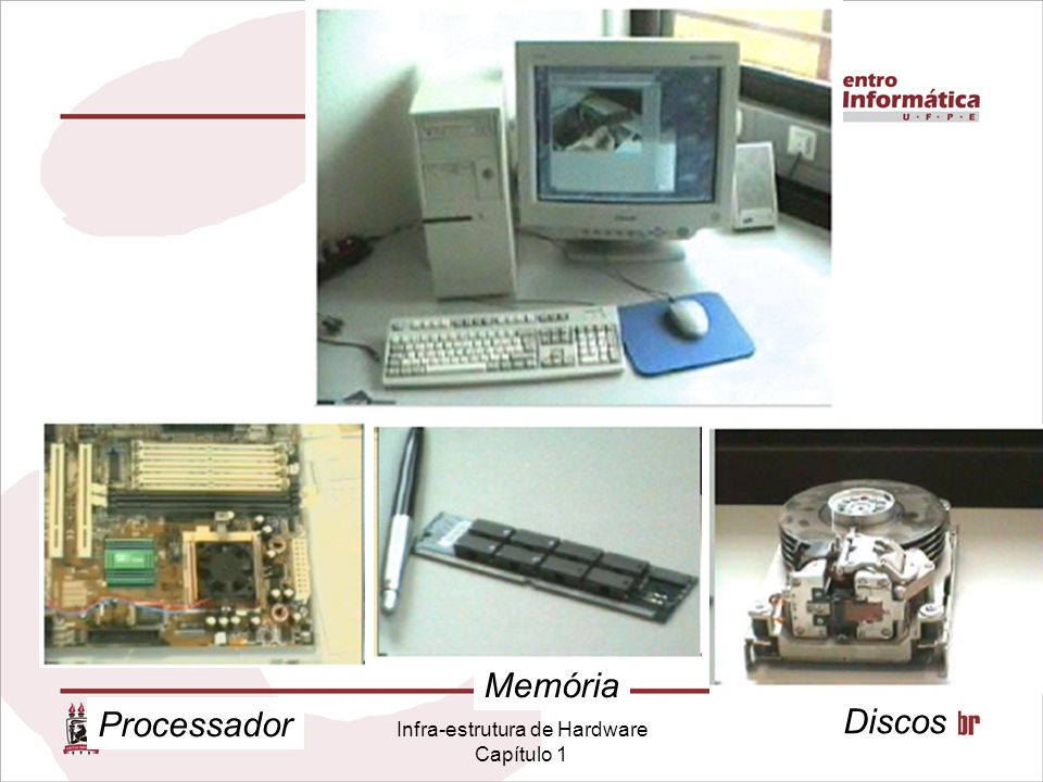Infra-estrutura de Hardware Capítulo 1