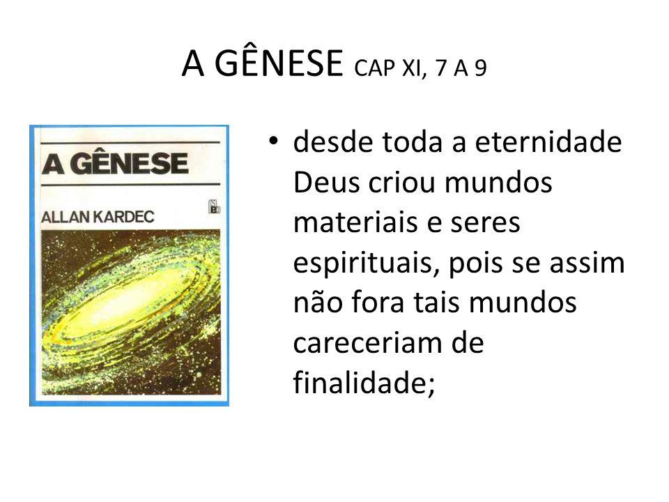 A GÊNESE CAP XI, 7 A 9