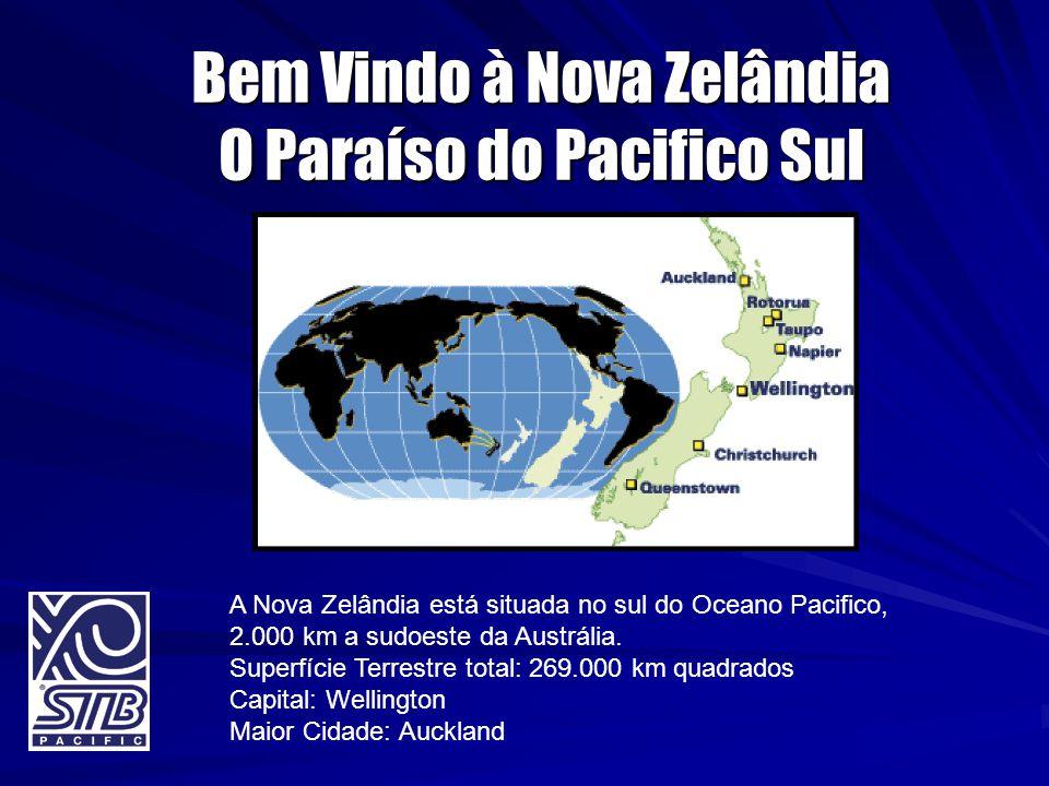 Bem Vindo à Nova Zelândia O Paraíso do Pacifico Sul