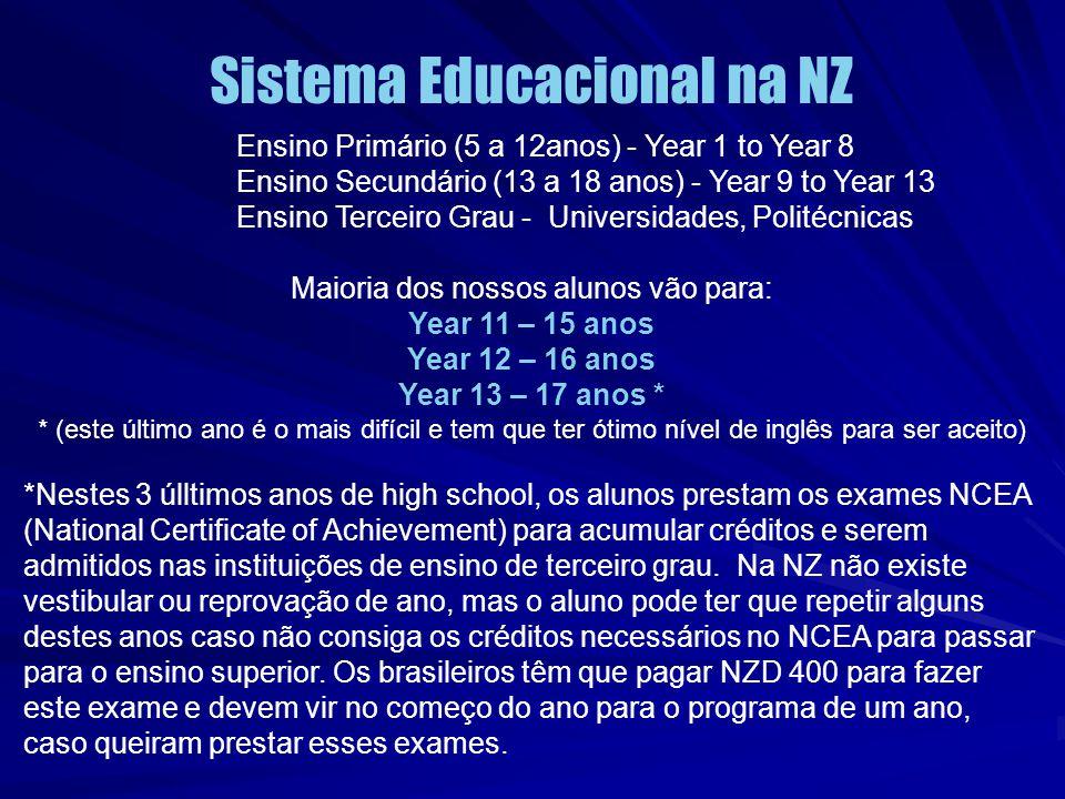 Sistema Educacional na NZ