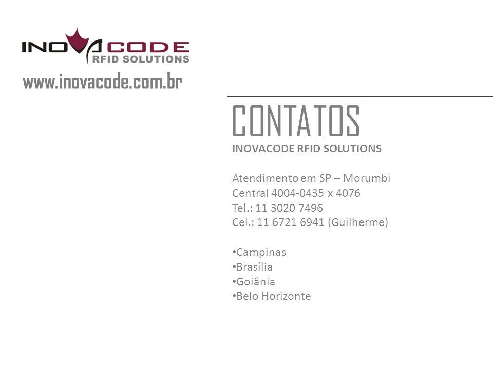 CONTATOS www.inovacode.com.br INOVACODE RFID SOLUTIONS