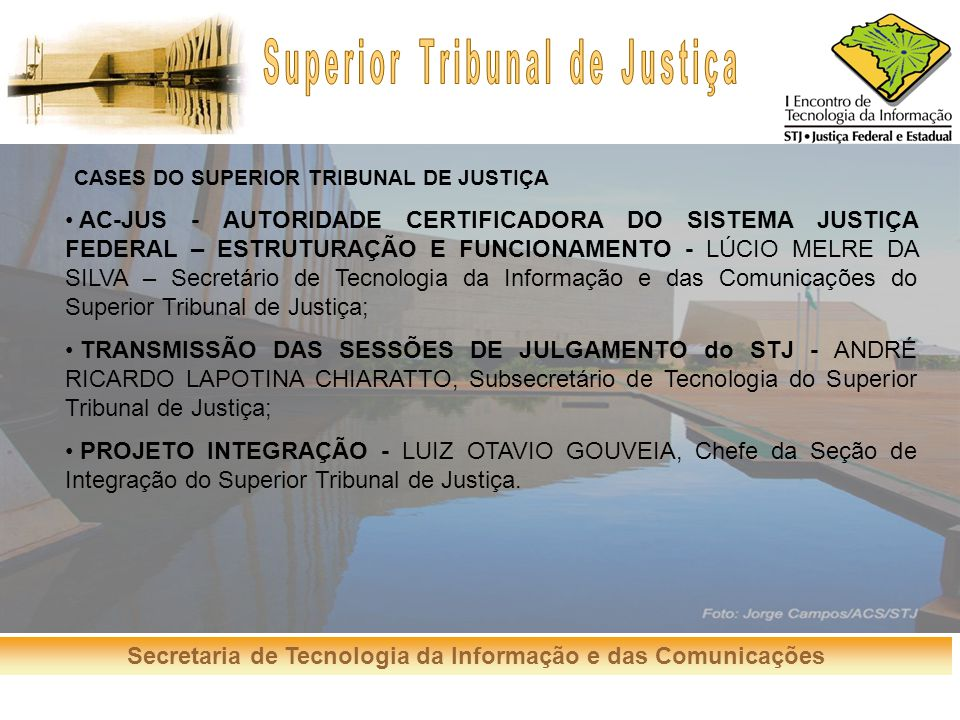 CASES DO SUPERIOR TRIBUNAL DE JUSTIÇA